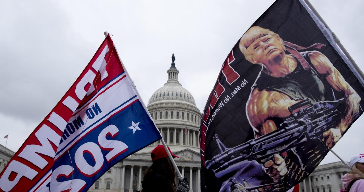 Gwardia Narodowa na ulicach Waszyngtonu. Dziś wielka demonstracja zwolenników Trumpa