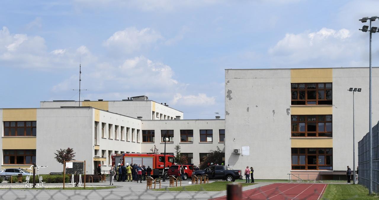 Strzały i eksplozje w szkole w Brześciu Kujawskim. Jest akt oskarżenia
