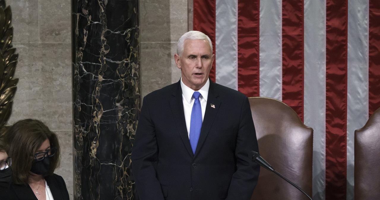 Mike Pence weźmie udział w zaprzysiężeniu Joe Bidena