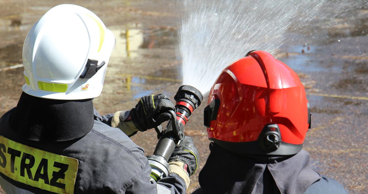 Pożar w DPS-ie na Podlasiu. Ewakuowano 33 osoby