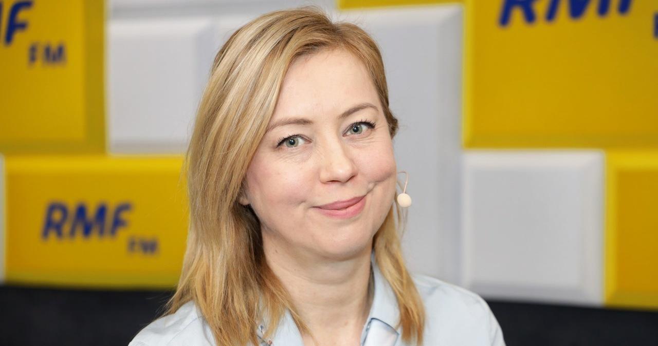 Hanna Gill-Piątek gościem Popołudniowej rozmowy w RMF FM