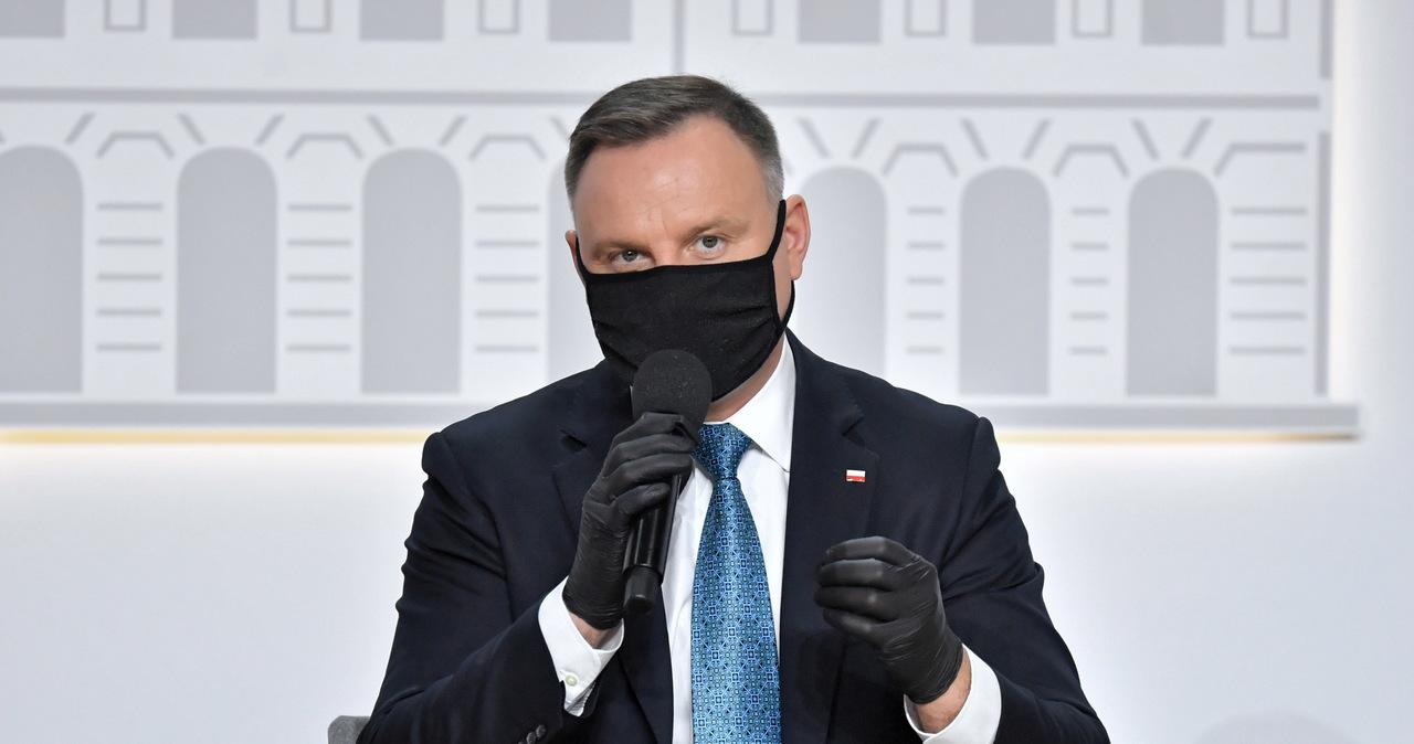 Andrzej Duda przygotował projekt noweli do ustawy o Sądzie Najwyższym