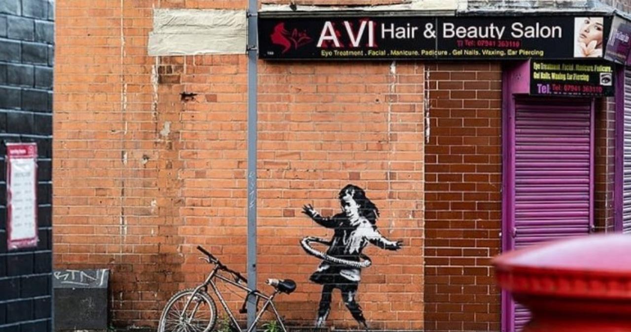 Mural Banksy'ego zniknął z Nottingham. Mieszkańcy zawiedzeni