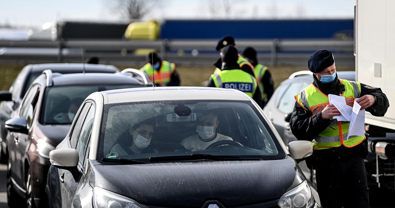 Kontrole na granicy niemiecko-czeskiej. Prawie 16 tys. kierowców zawróconych