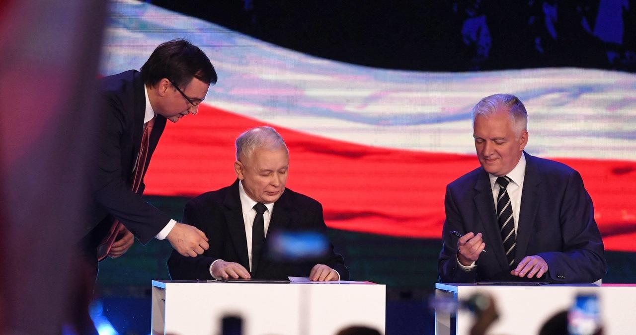 Kaczyński, Gowin i Ziobro ratują Zjednoczoną Prawicę. Dziś spotkanie na szczycie