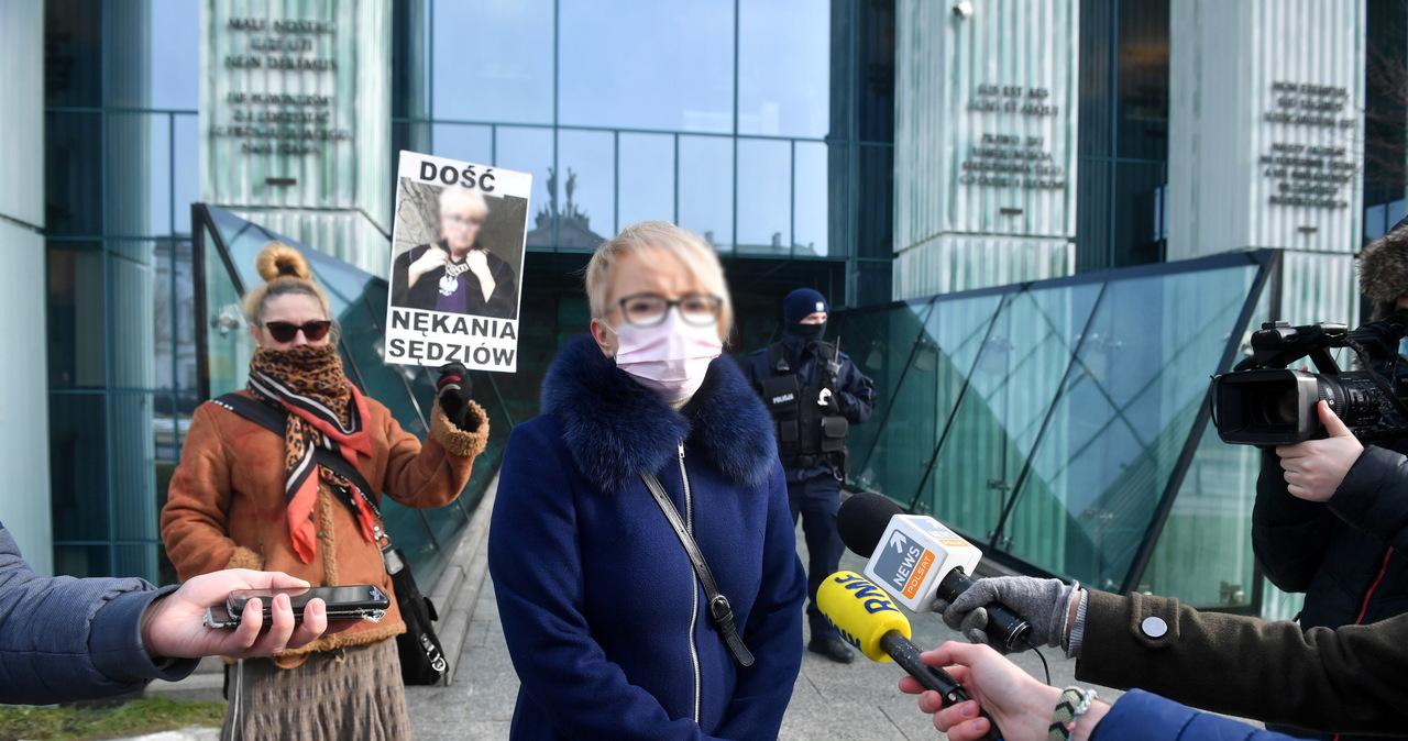 Izba Dyscyplinarna SN zajmuje się zażaleniem na uchylenie immunitetu sędzi Morawiec