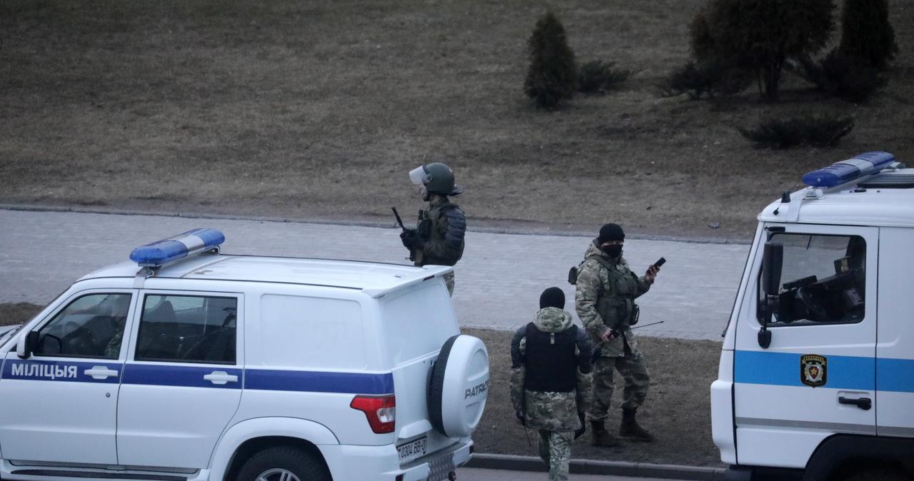 Białoruś: Koncentracja sił milicji i liczne zatrzymania w Mińsku