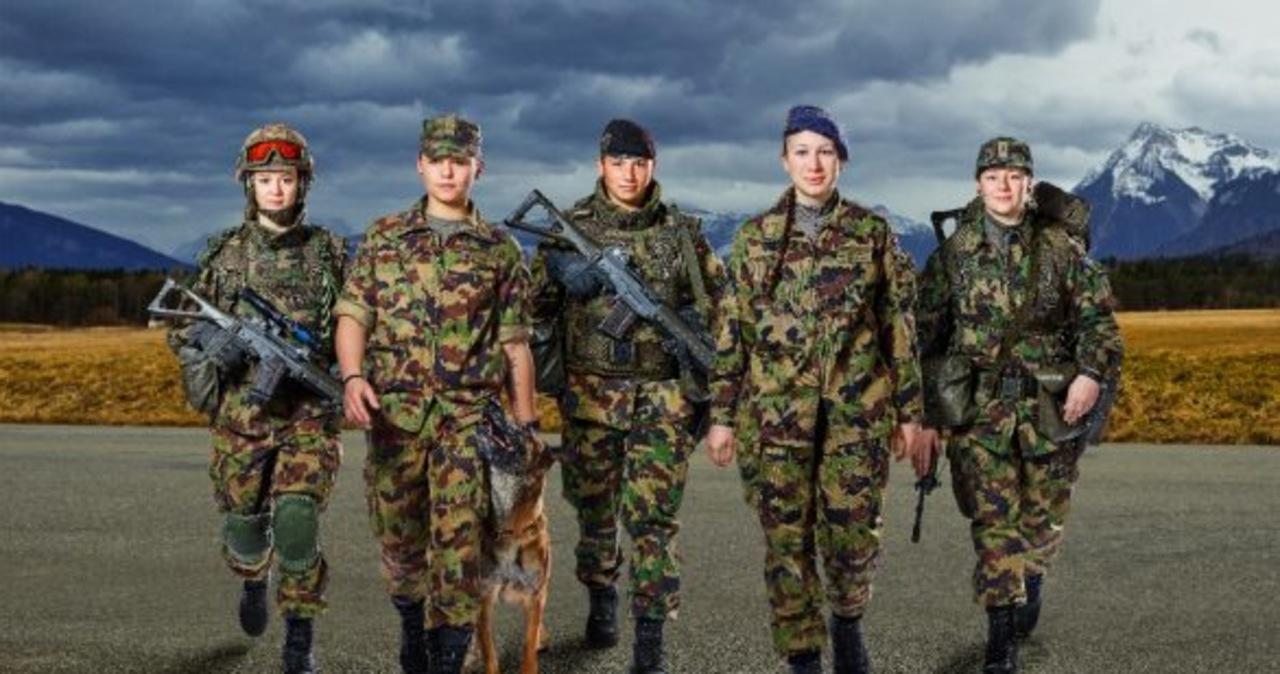 Szwajcarska armia dostanie… damską bieliznę
