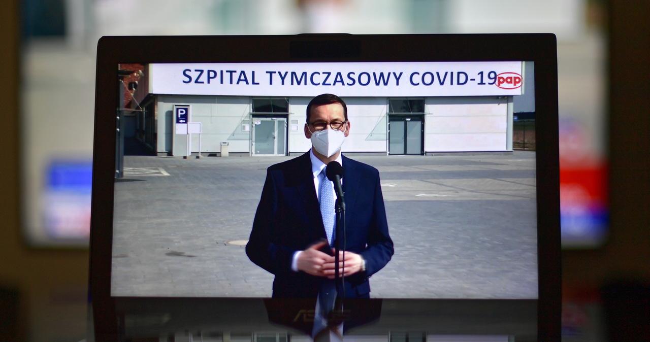 Morawiecki: Będziemy przekształcać szpitale tymczasowe w szpitale rehabilitacji pocovidowej