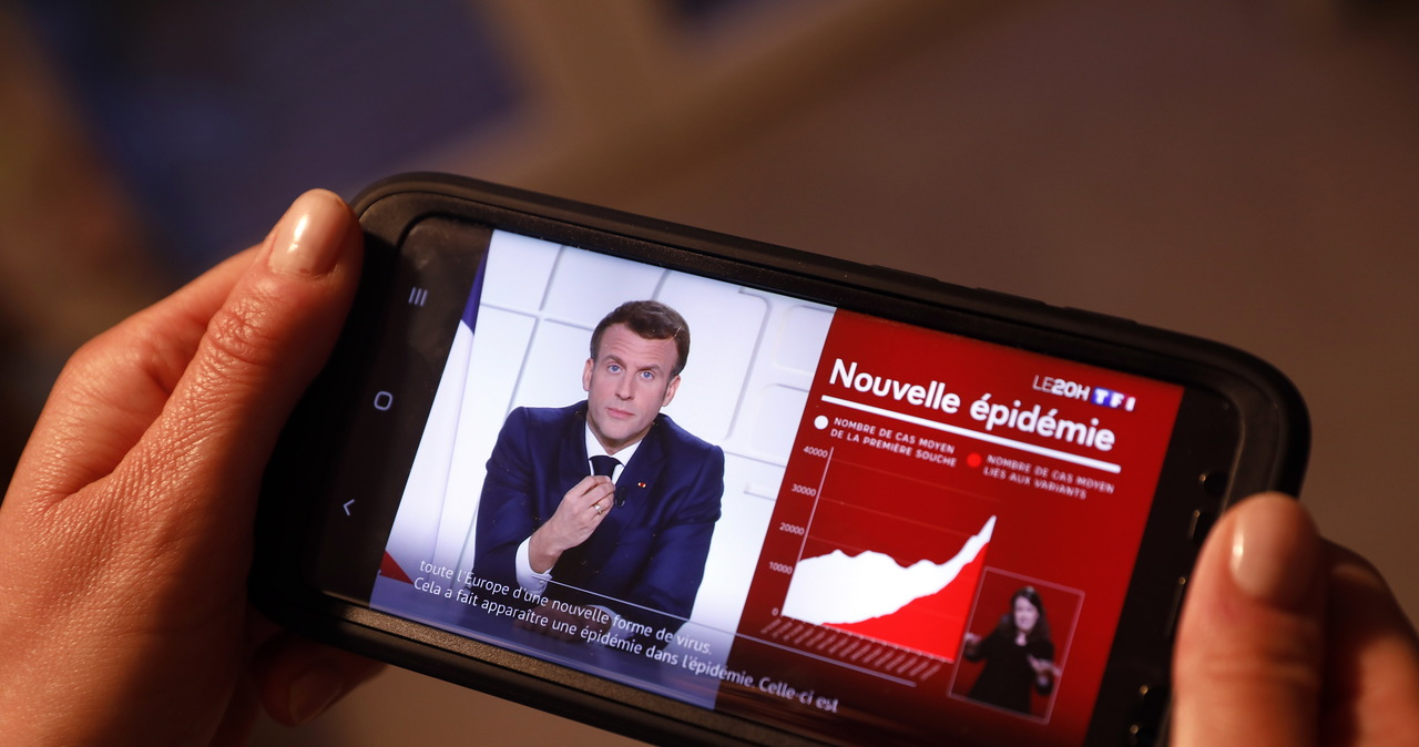 Macron: Lockdown w całej Francji