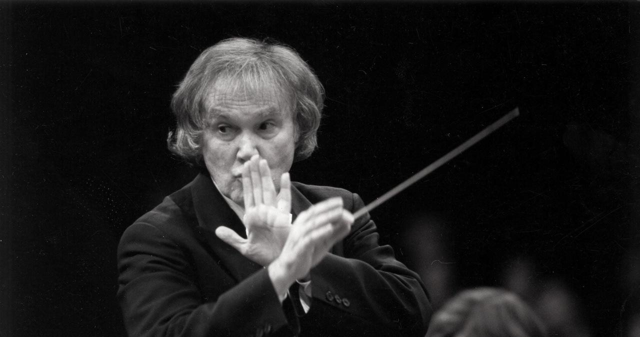 Nie żyje Kazimierz Kord. Był wieloletnim dyrektorem Filharmonii Narodowej w Warszawie