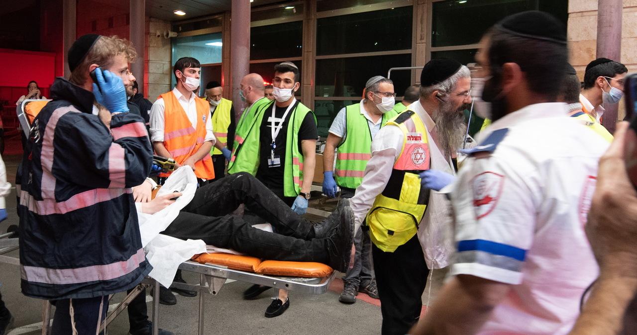 Świadek tragedii w Izraelu: Ludzie krzyczeli, dusili się