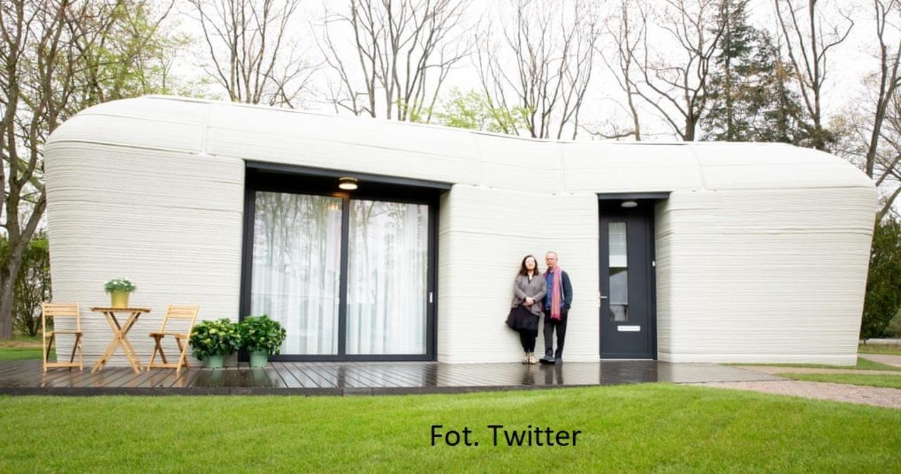 Pierwszy w Europie dom w całości wydrukowany na drukarce 3D. Zamiast kluczy - aplikacja