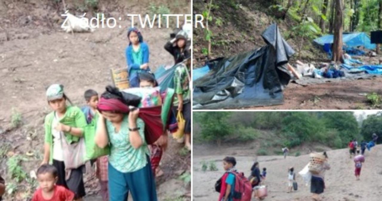 Tysiące birmańskich uchodźców schroniły się w Tajlandii. Kolejni gotowi do ucieczki