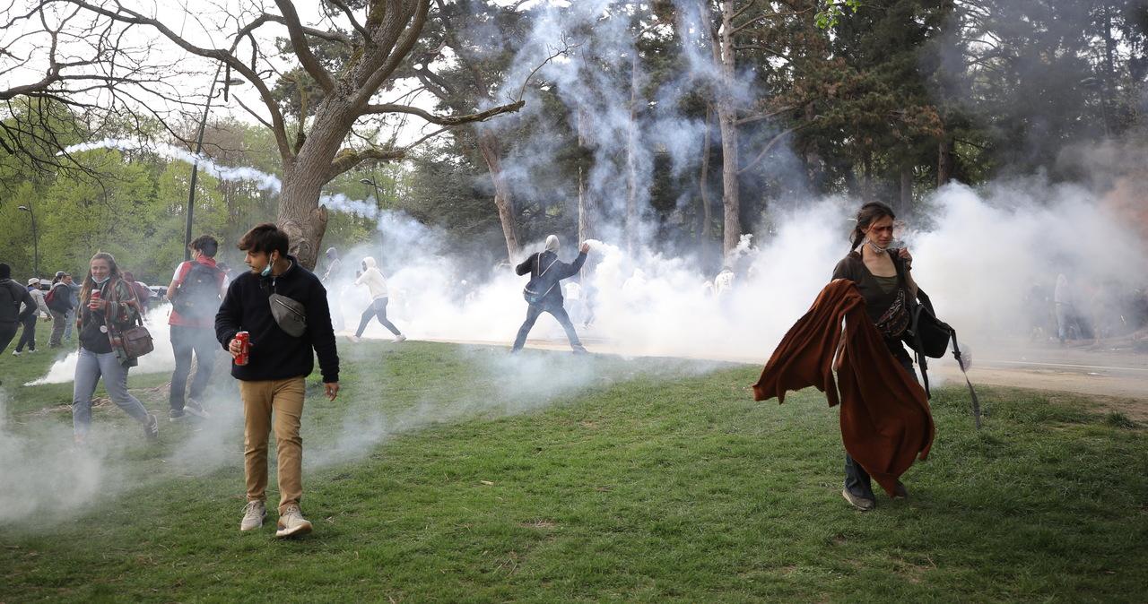 Nielegalna impreza w parku pod Brukselą. 132 osoby zatrzymane
