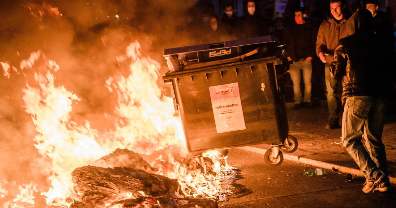 Manifestacje w Berlinie: Ponad 200 osób aresztowanych, kilkudziesięciu rannych policjantów