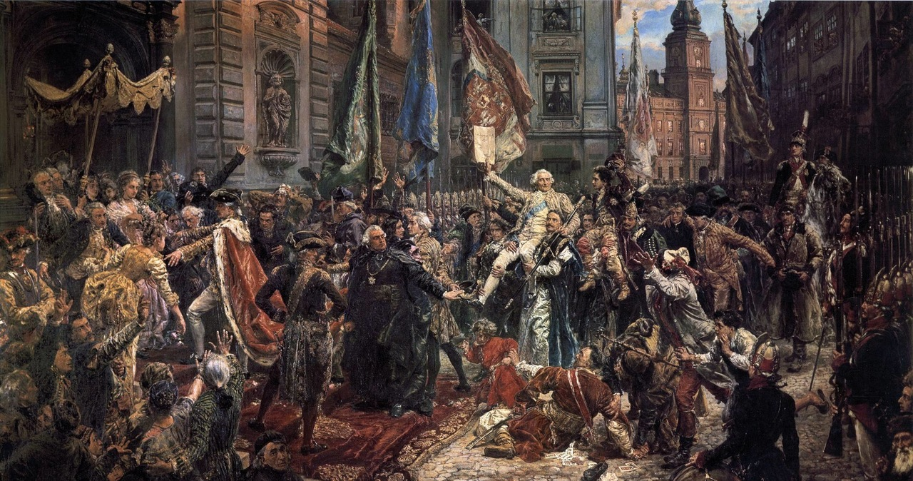 Pierwsze wydanie Konstytucji 3 Maja miało błędy. Poprawiano je ręcznie