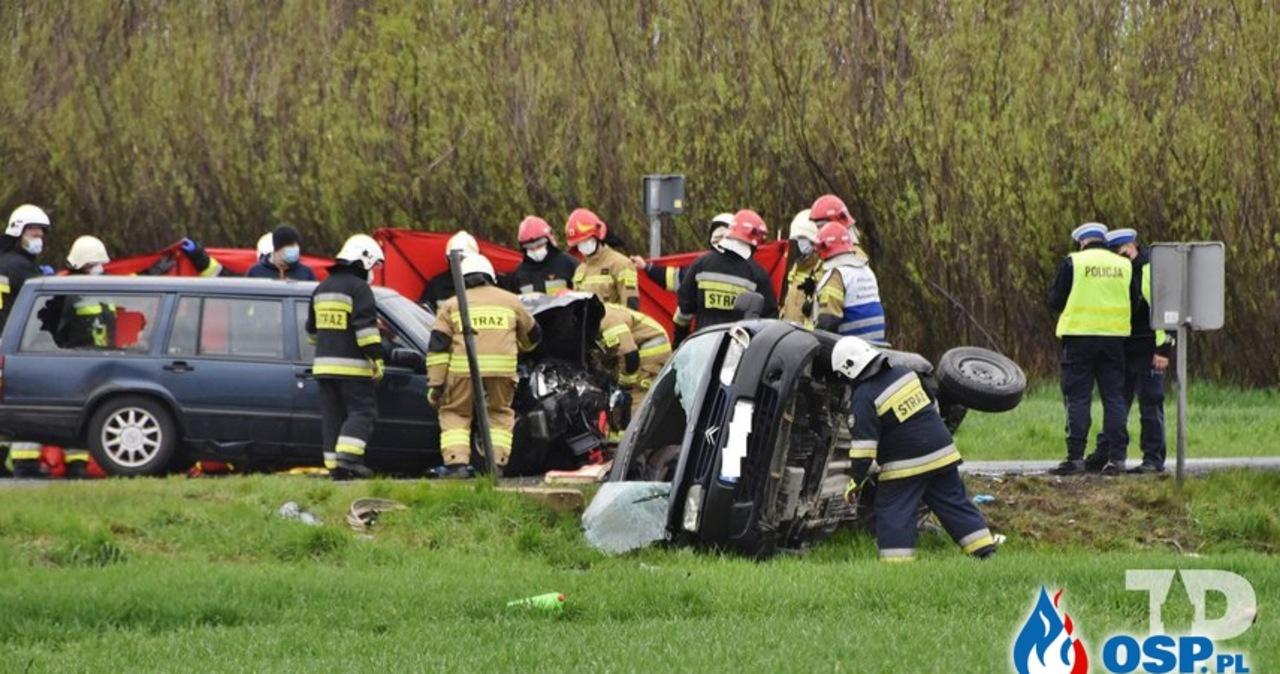 W wypadku zginęła 26-letnia druhna z OSP Michałowice. Była w 9 miesiącu ciąży