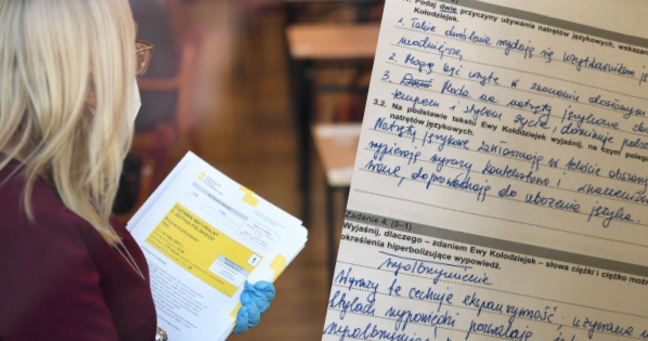 Matura 2021: Arkusze CKE i rozwiązania z języka polskiego