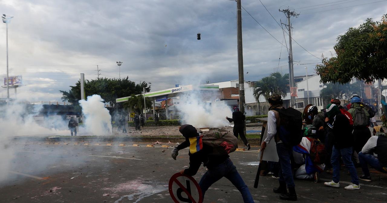 Kolumbia: Zamieszki przeciwko podwyżkom. Zginęło 19 osób
