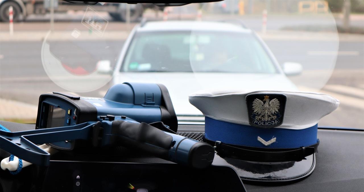 Policyjny pościg na Mazowszu. Padły strzały