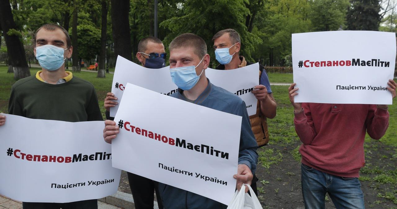 Ukraiński parlament odwołał ministra zdrowia. Bo nie radził sobie z pandemią