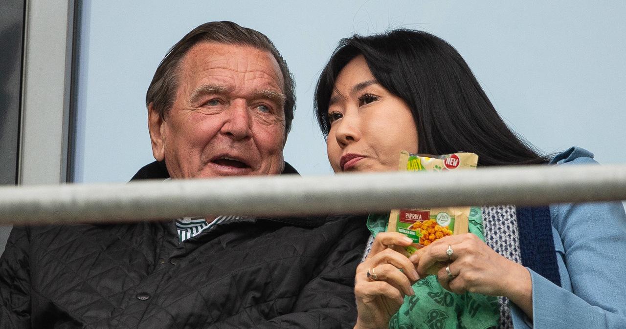 Gerhard Schroeder przegrał w sądzie z byłym mężem swojej żony