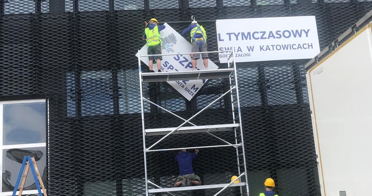 Koniec szpitala tymczasowego w Katowicach