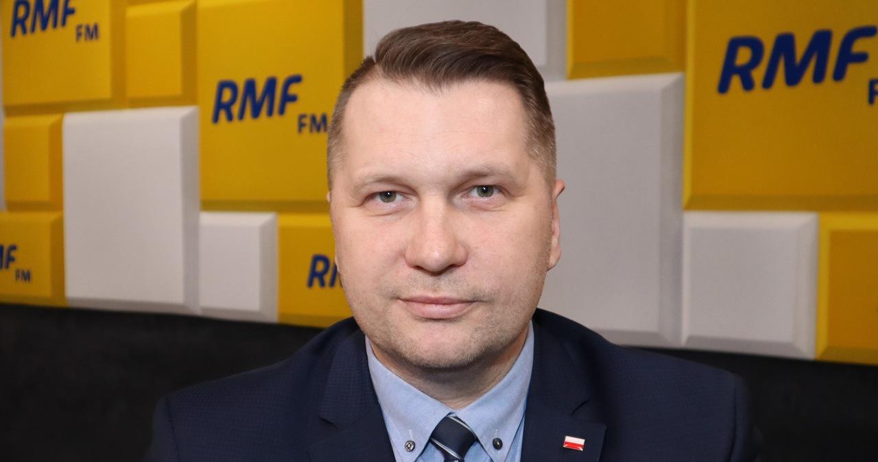 Przemysław Czarnek w Porannej rozmowie w RMF FM. Zobacz!