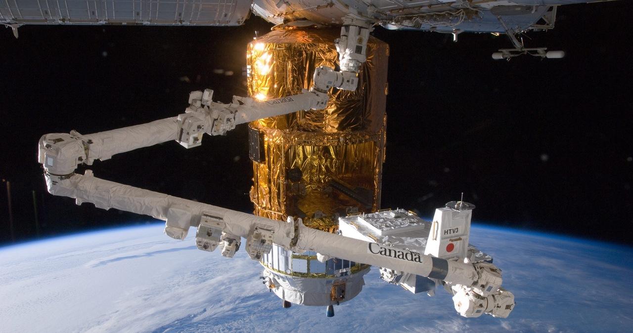 Kosmiczny śmieć uderzył w ramię robota na Międzynarodowej Stacji Kosmicznej