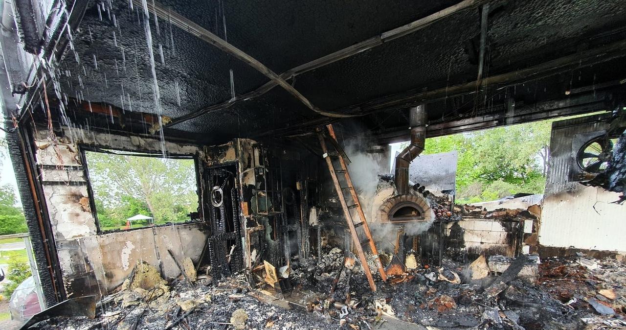 Spłonęła znana restauracja we Władysławowie