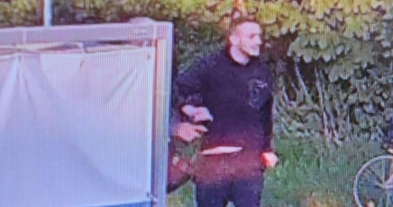 Policja szuka tego mężczyzny. Zaatakował rowerzystę