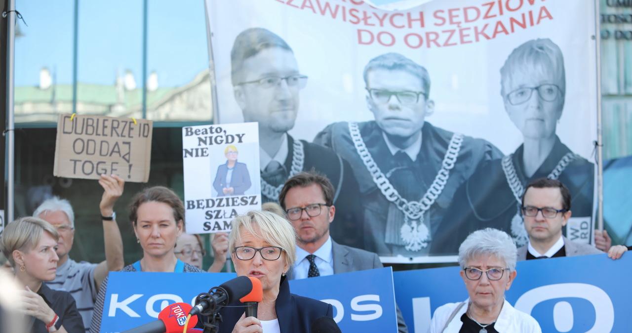Izba Dyscyplinarna SN wznowiła posiedzenie ws. immunitetu sędzi Beaty Morawiec