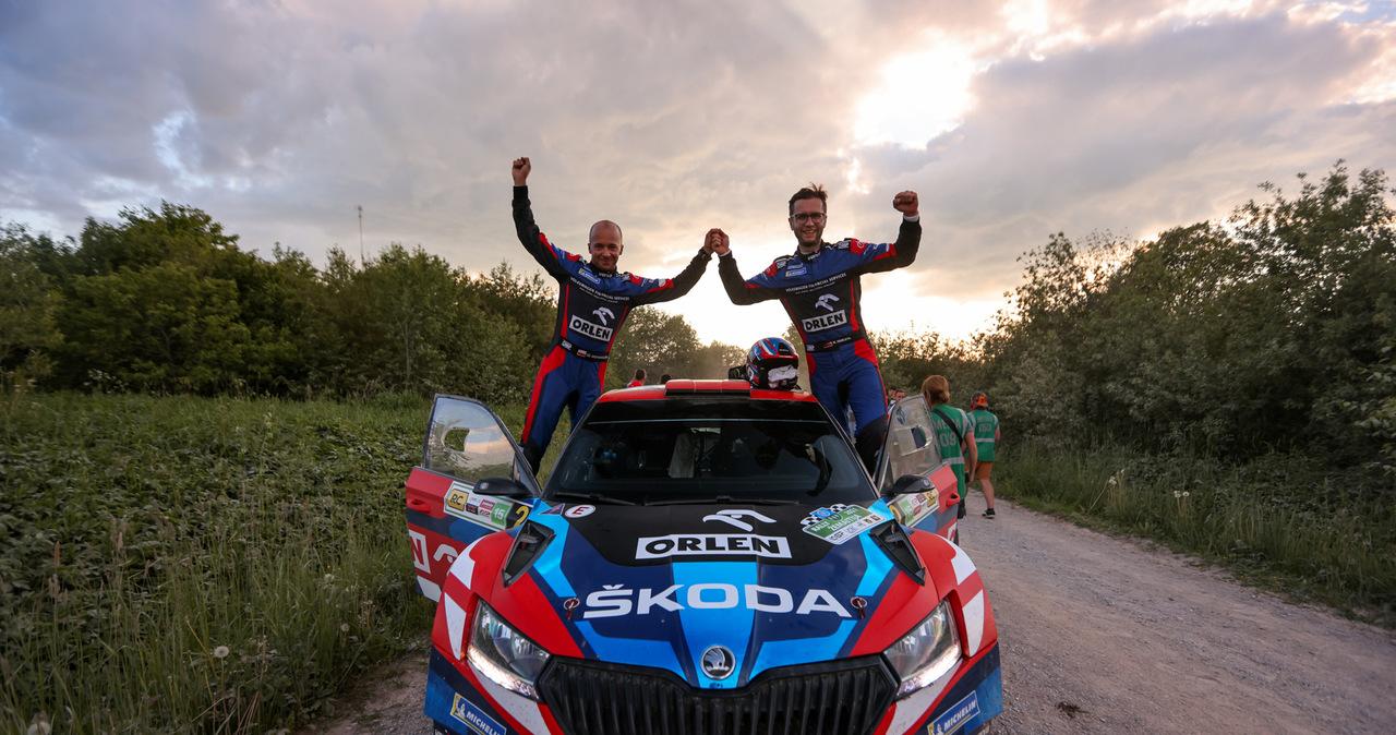 Miko Marczyk i Szymon Gospodarczyk zwyciężyli w 1. rundzie Rajdowych Samochodowych Mistrzostw Polski!