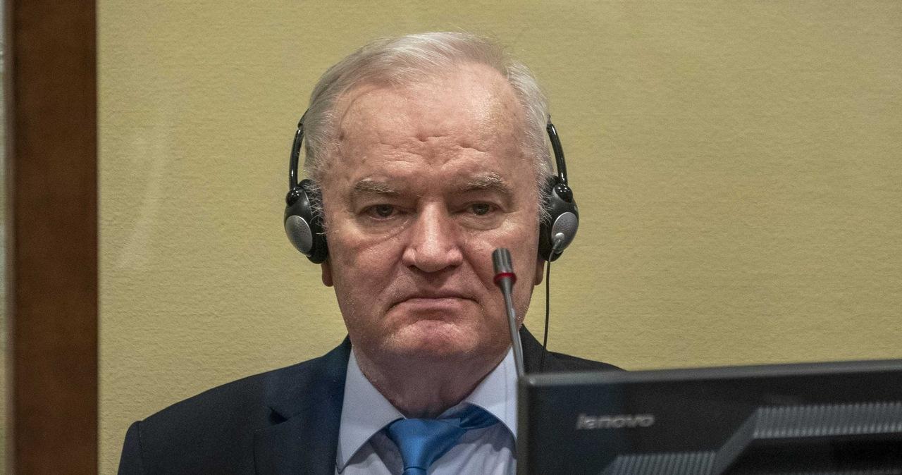 """Dożywocie dla """"rzeźnika z Bałkanów"""". W Hadze podtrzymano karę dla Ratko Mladicia"""