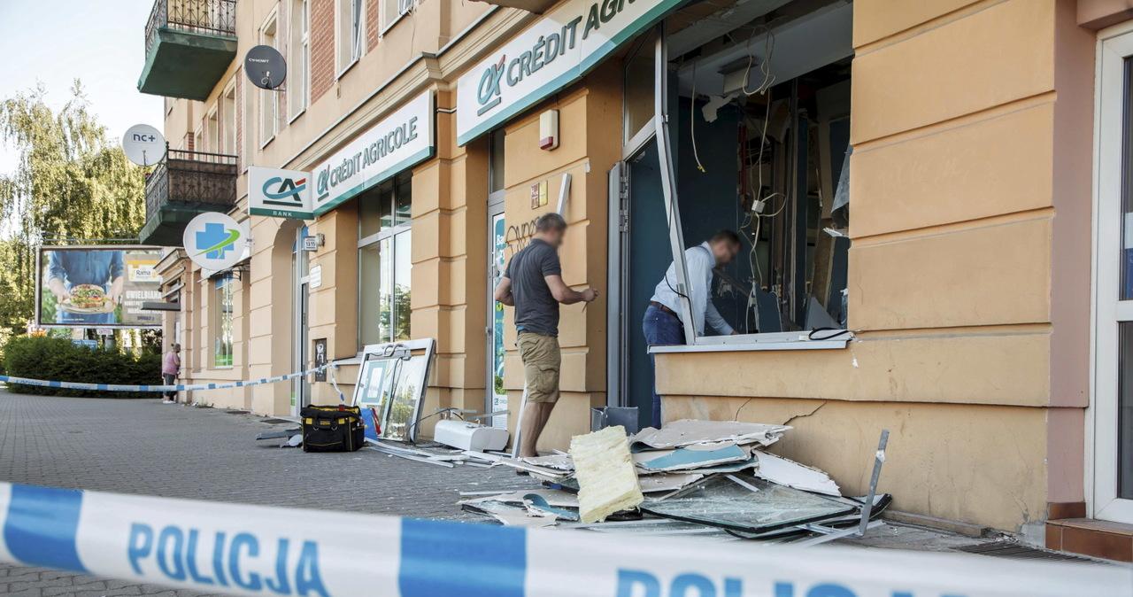 Nieznani sprawcy wysadzili bankomat we Wrocławiu