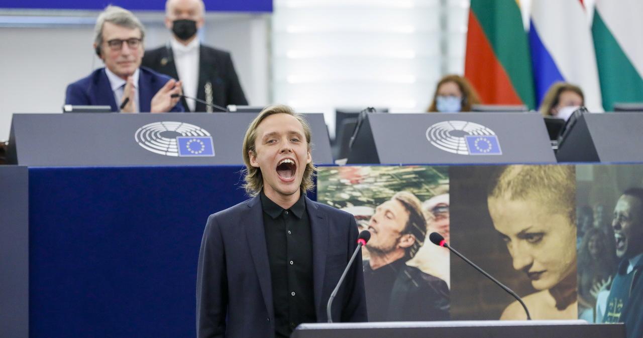 Krzyk Bartosza Bieleni dla Białorusi w Parlamencie Europejskim