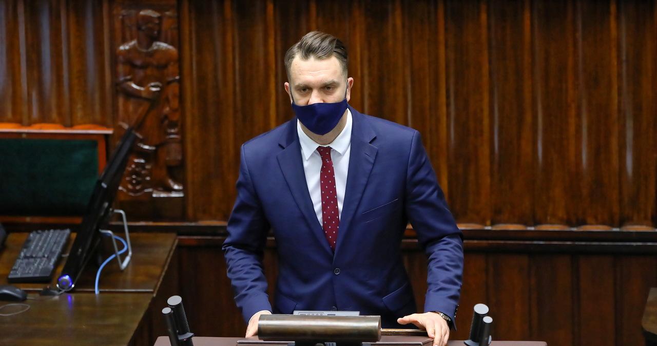 Sejmowa komisja regulaminowa udzieliła nagany posłowi Mejzie