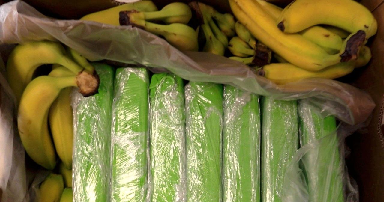 Kokaina w bananach popularnej sieci. Część trafiła już do sklepów