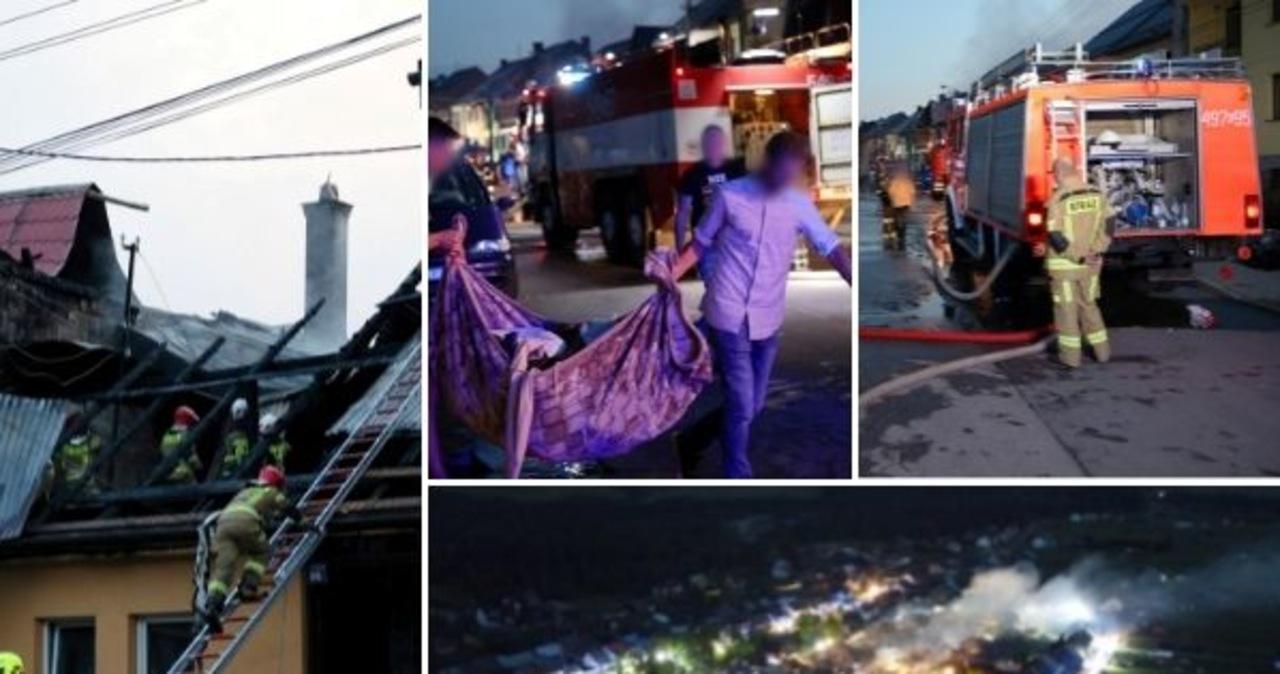 Nowa Biała liczy straty po pożarze. Ponad 100 osób bez dachu nad głową