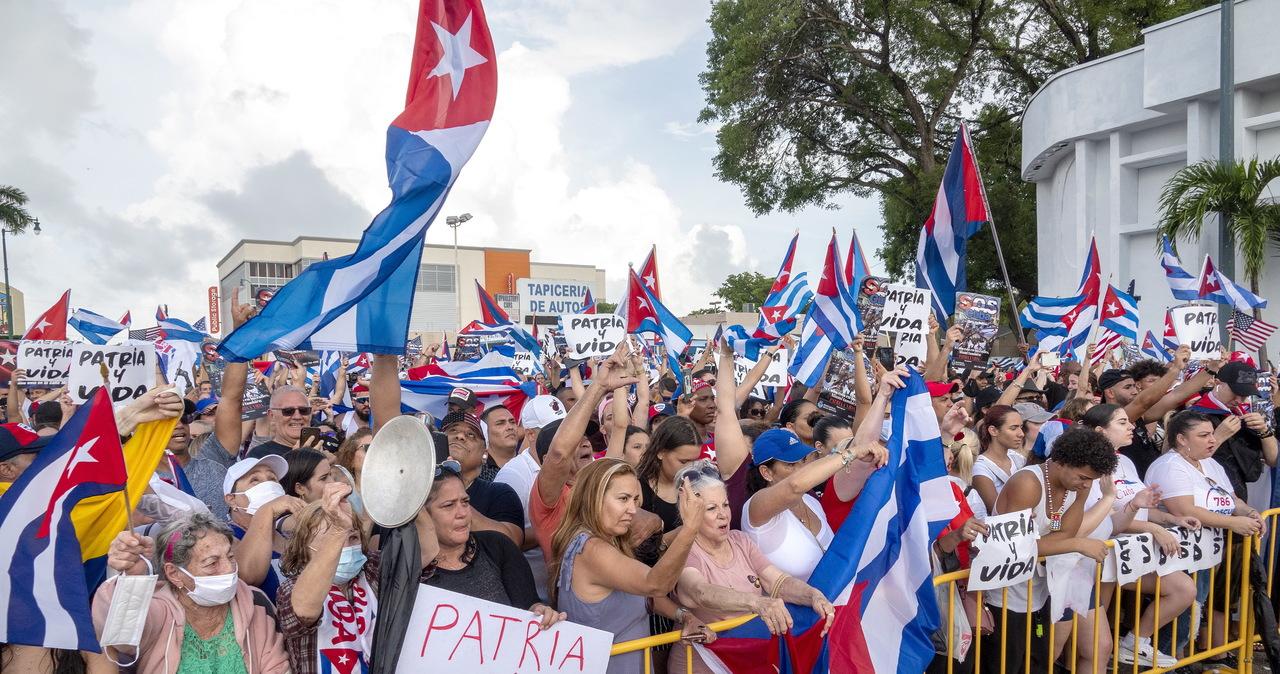 Sytuacja na Kubie. Blisko 190 zaginionych po antyreżimowych protestach