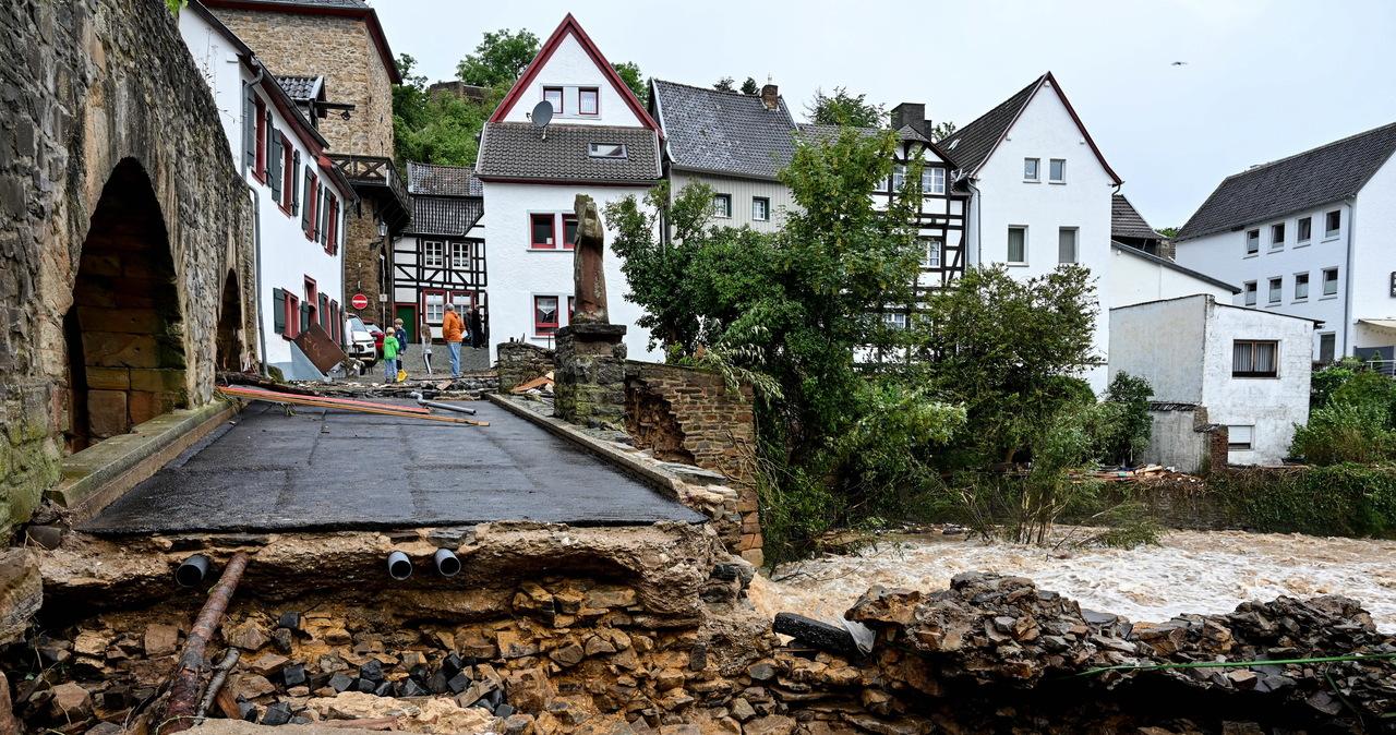 Niemcy: Największa powódź od 300 lat, nie żyje 11 osób