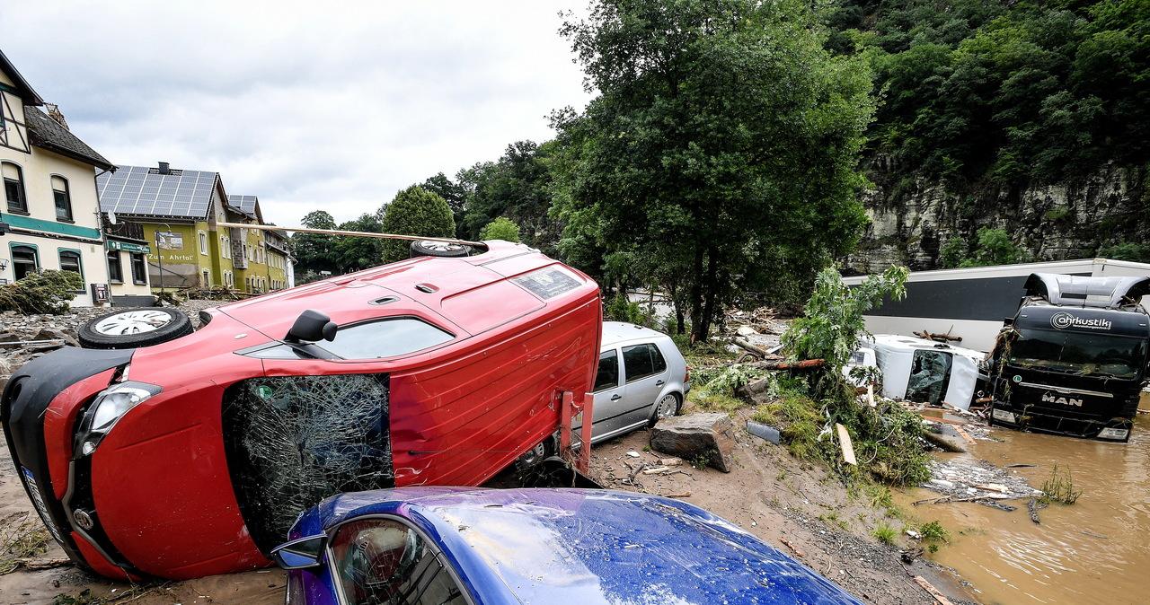 Katastrofalne powodzie: Kilkadziesiąt ofiar w Niemczech, ewakuacja Liege w Belgii