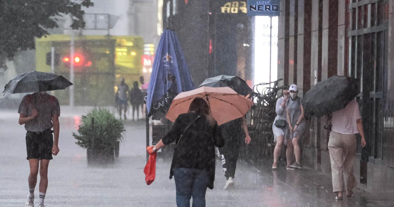 Kolejny burzowy dzień. Sprawdź mapę pogodową