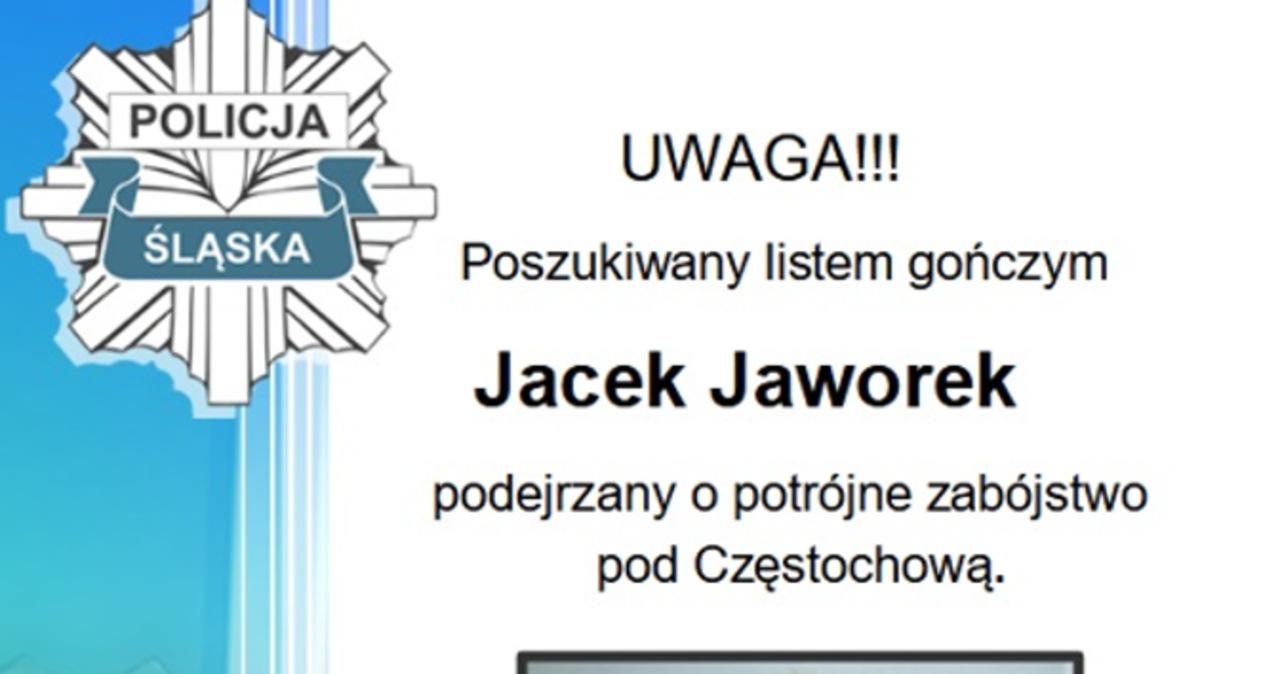 Poszukiwania Jacka Jaworka. Policja wyznaczyła nagrodę