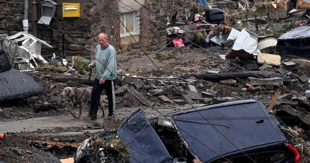"""Rośnie liczba ofiar ogromnej powodzi w Niemczech. """"To jest horror"""""""