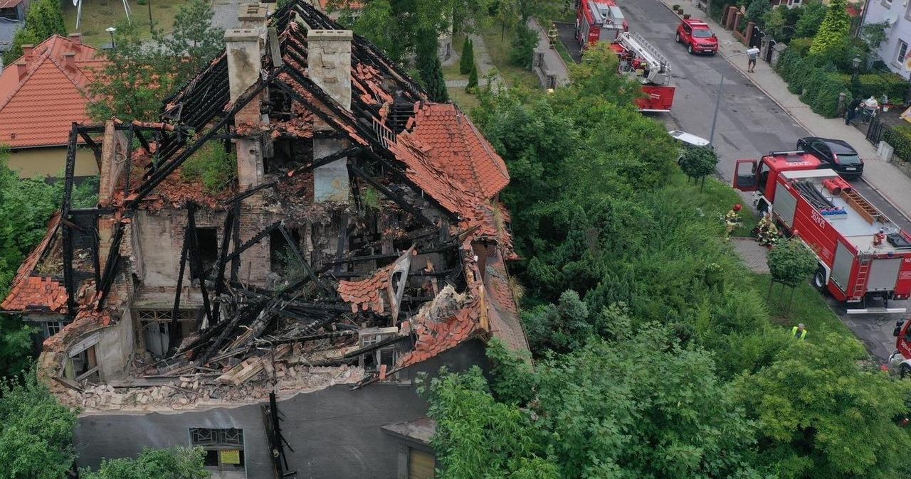 Katastrofa budowlana na Dolnym Śląsku. Zawaliły się stropy willi