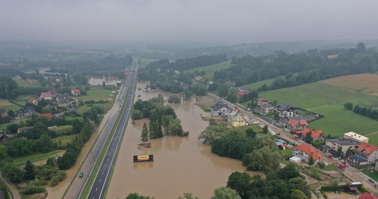 Zakopianka pod wodą. Powódź błyskawiczna w Małopolsce