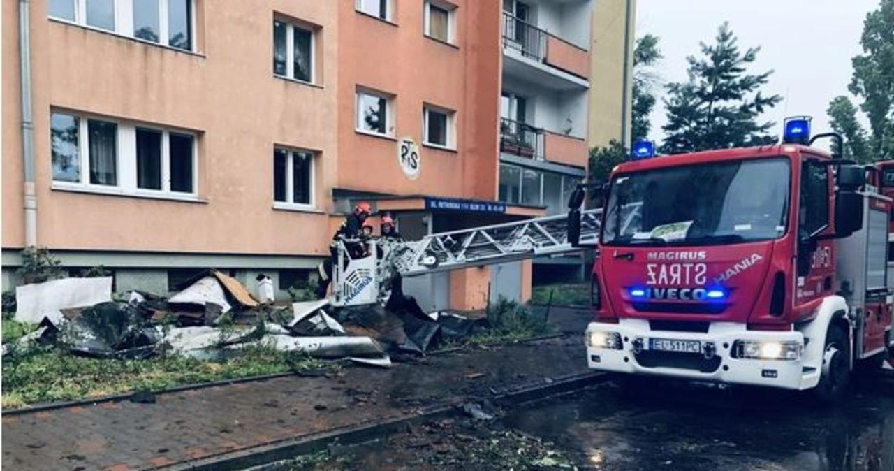 Niszczycielskie burze przeszły przez Łódź. Straty to ponad 5 mln zł