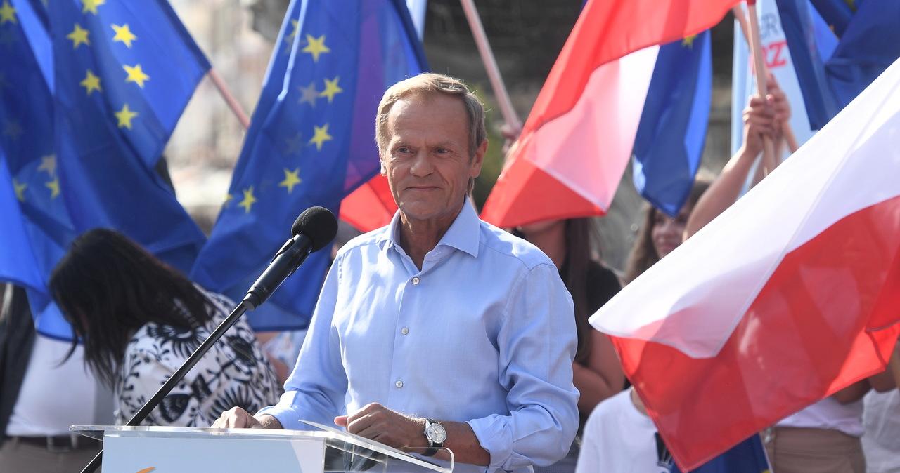 Tusk rzuca wyzwanie Kaczyńskiemu: Wyjdź ze swojej jaskini, stań ze mną twarzą w twarz